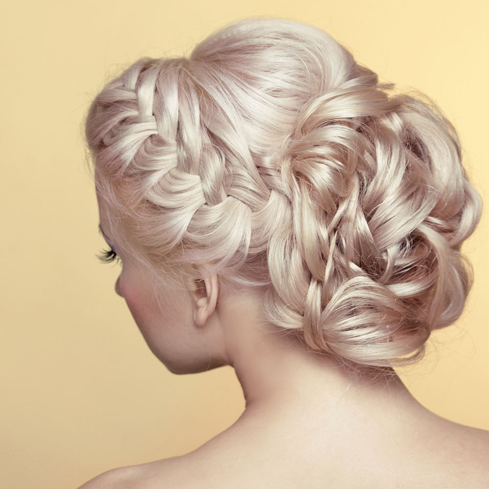 Pure Hair Design: Traditional Wedding Styles For Long Hair (Gallery)