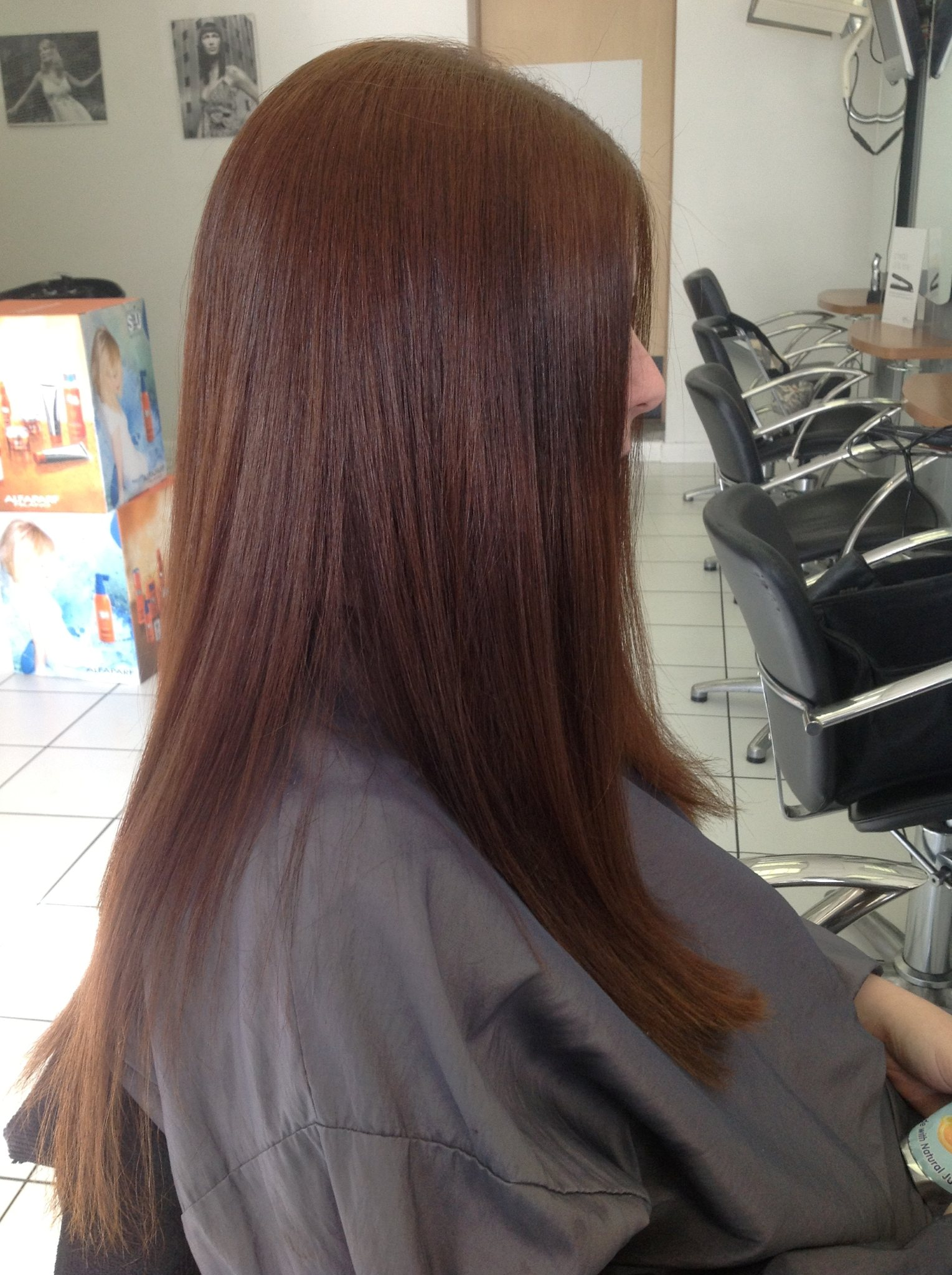 Brazilian Blow Dry - After