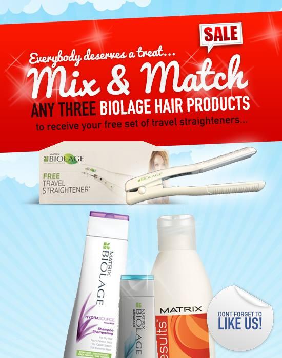 Offer Free Gift Matrix Biolage