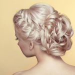 Wedding Hair Up on Blonde Hair