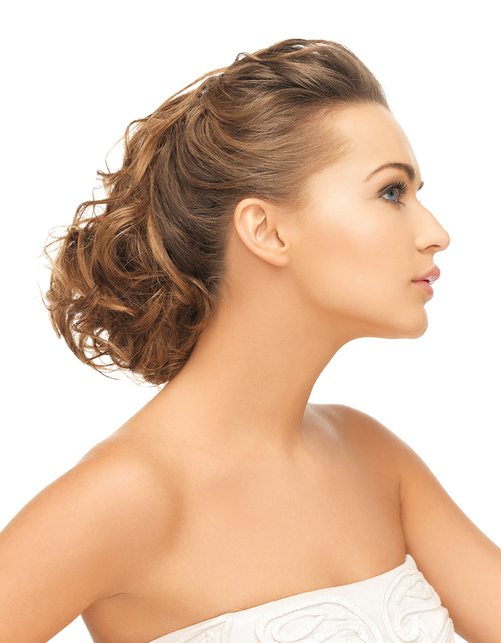 Wedding Hair on Light Brown Hair