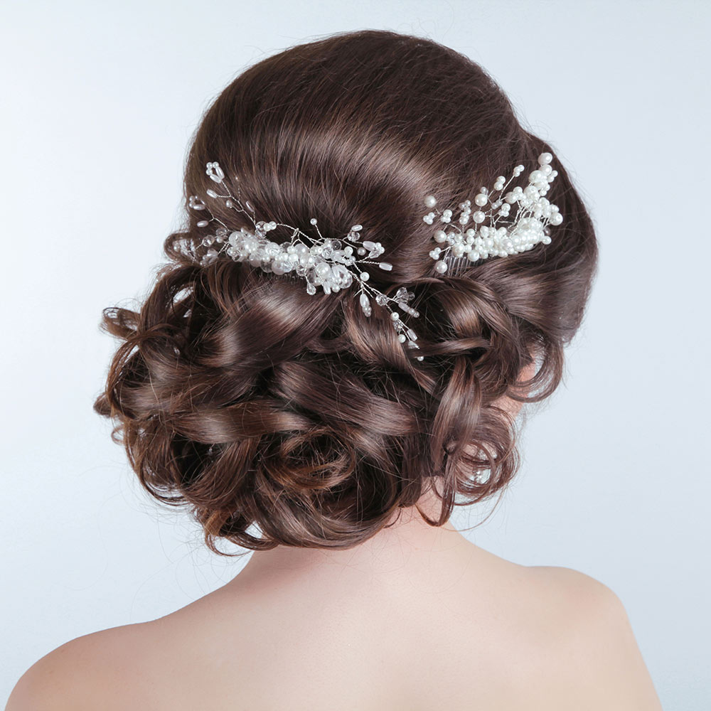 Wedding Hair Up on Brown Hair
