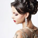 Wedding Hair Style on Dark Hair