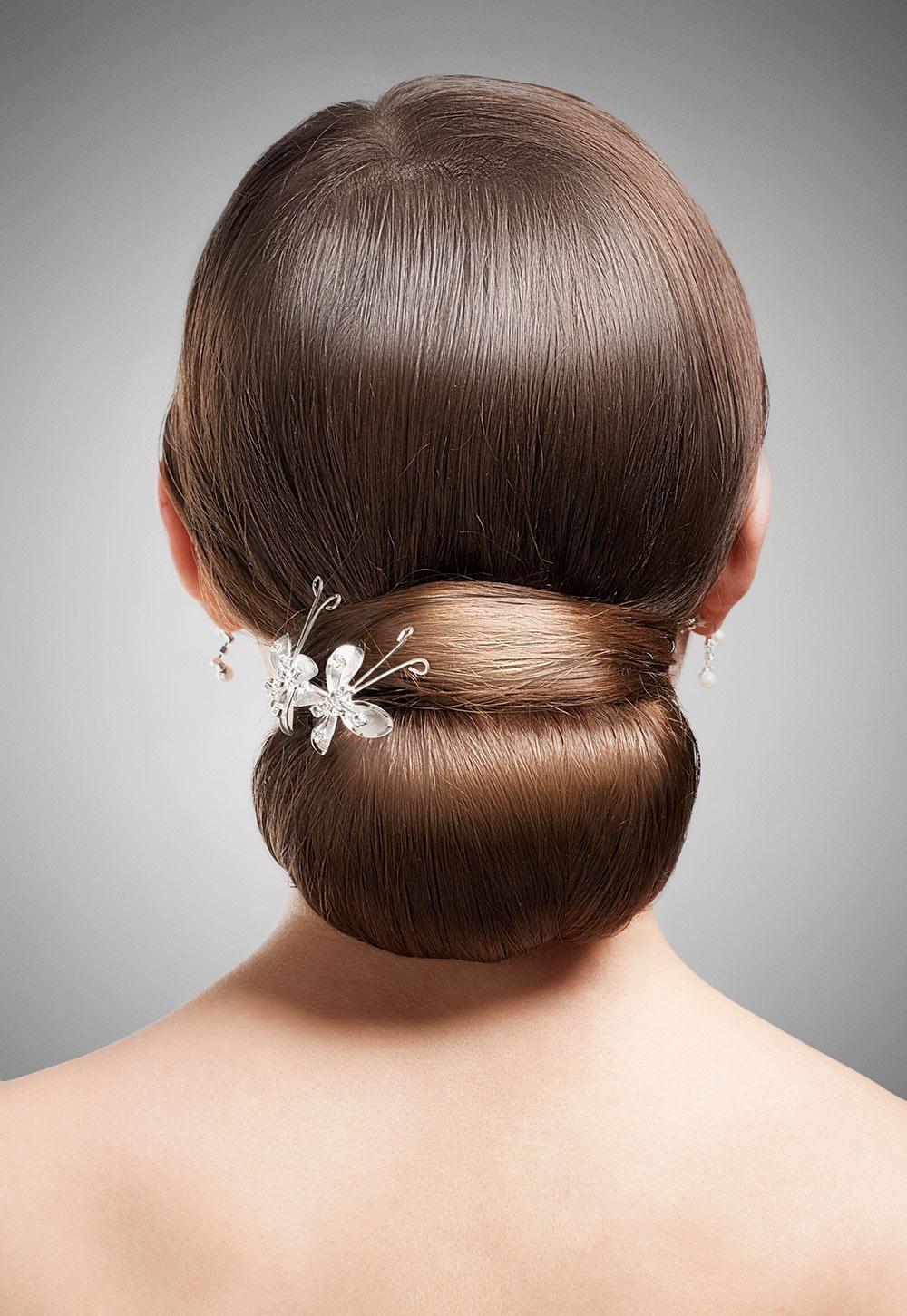 Wedding Hair Up Do on Blonde Hair