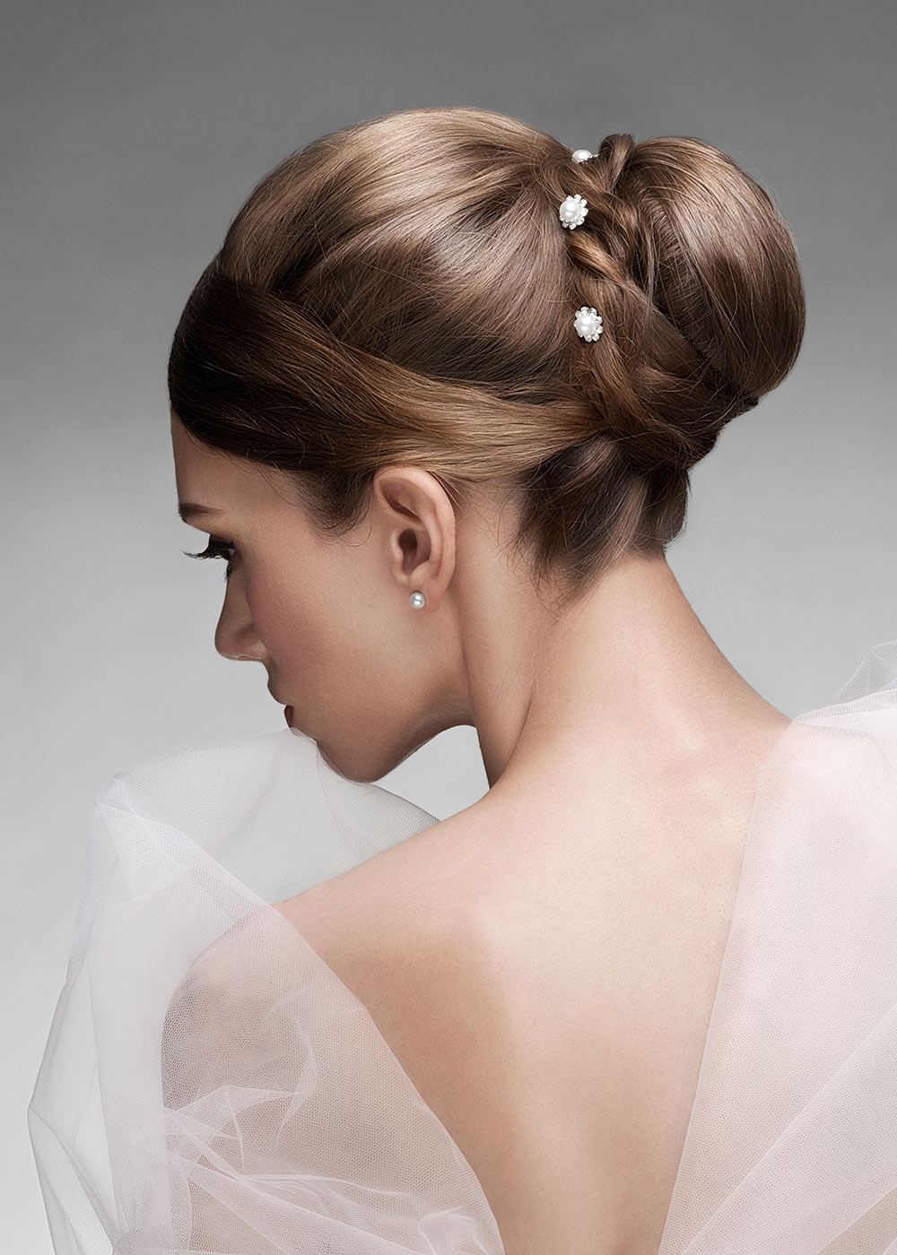 Wedding Hair Up Do on Blonde Hair
