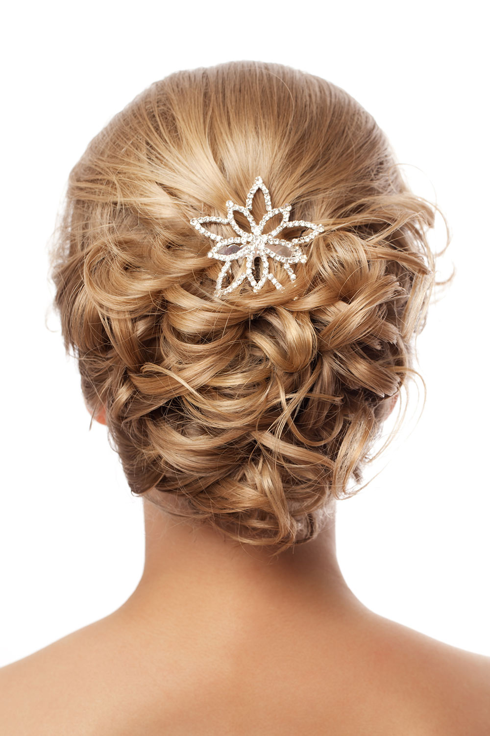 Wedding Hair Style on Blonde Hair