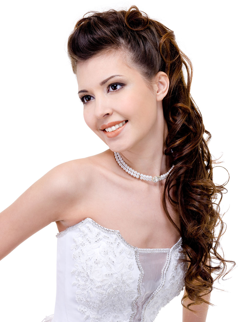 Wedding Hair Style for Brown Hair