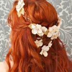 Wedding Hair on Red Hair