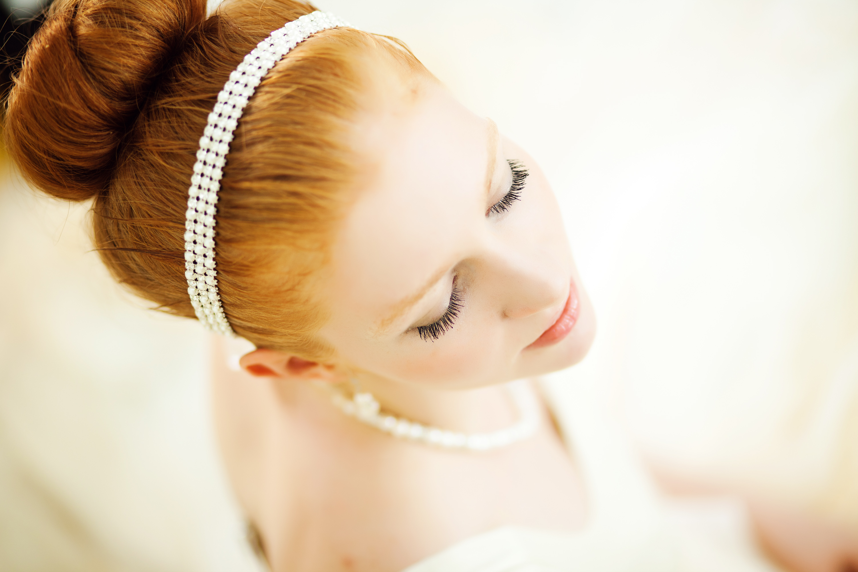 Wedding Hair Style on Red Hair