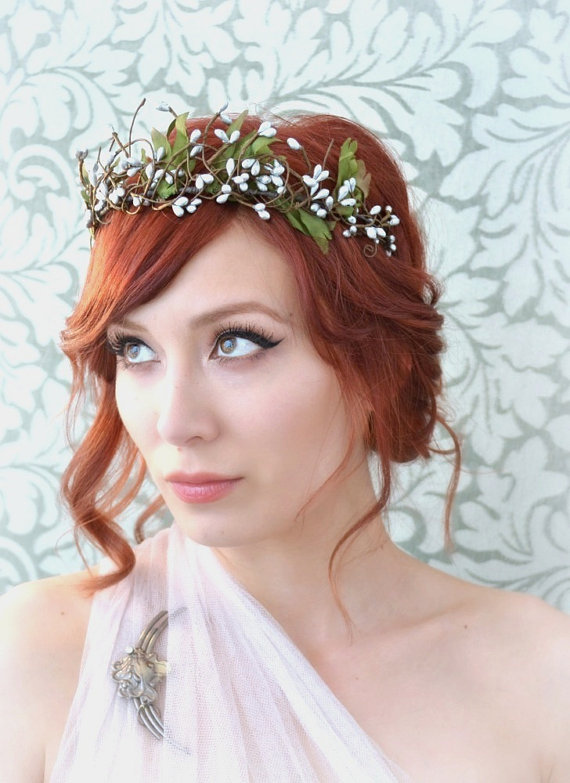 Autumnal Red Hair Style