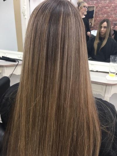 Brown to Blonde Bayalage Hair