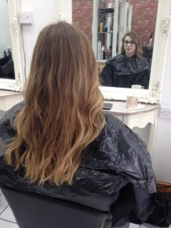 Rose Gold Hair Styling Pure Hair And Beauty